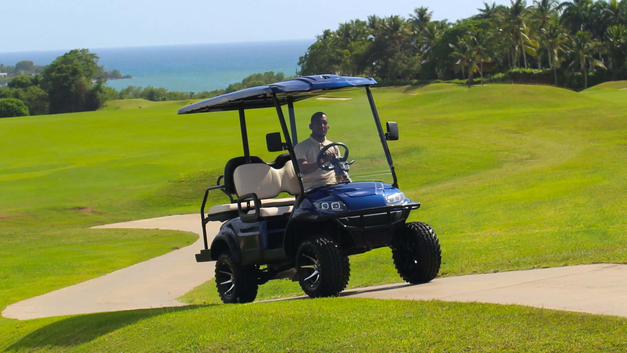 Gas Vs Electric Golf Carts Eco Planeta Caribe